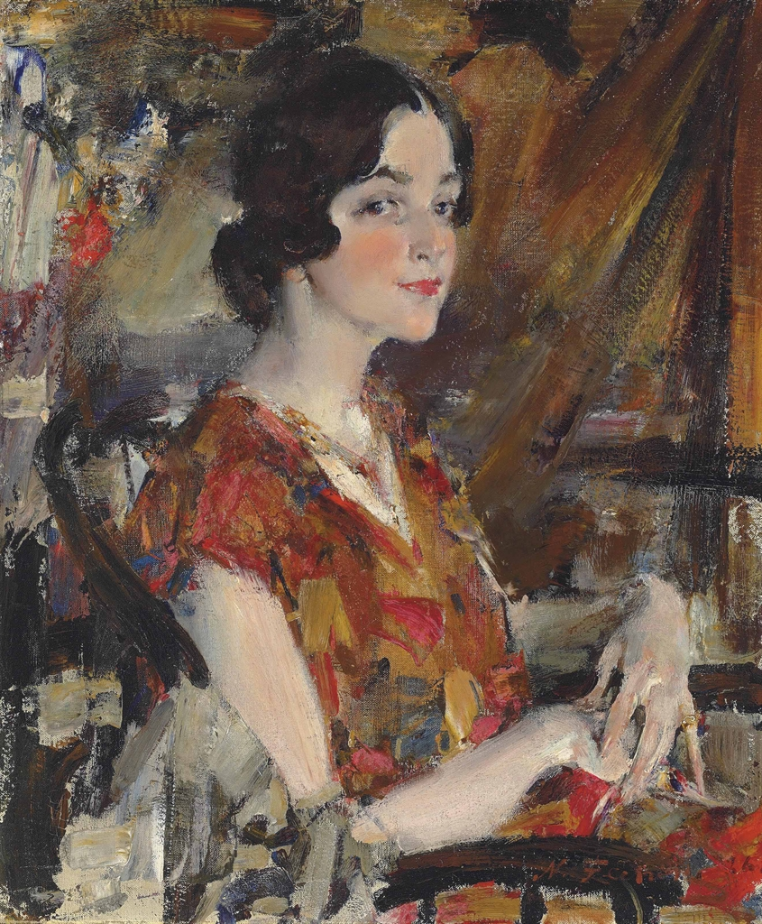 Nicolai fechin 1881 1955 portrait of kate 1920s for Nicolai fechin paintings for sale