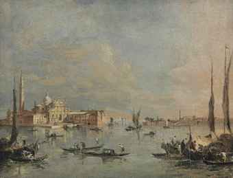 The Island of San Giorgio Maggiore, Venice, seen from the Bacino