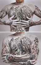 Chinese Landscape: Tattoo No. 1; & Chinese Landscape: Tattoo No. 9