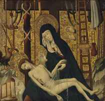 The Pietà, with the Instruments of the Passion