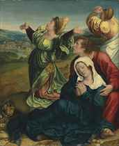 The Holy Women and Saint John