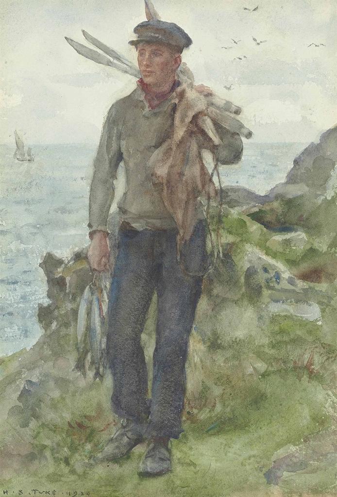 Henry Tuke Paintings For Sale