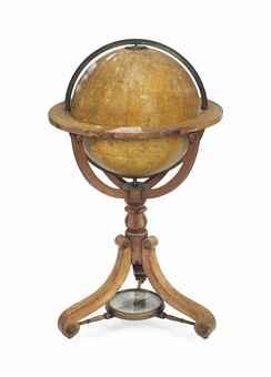 AN 18-inch (46 cm.) TERRESTRIAL GLOBE