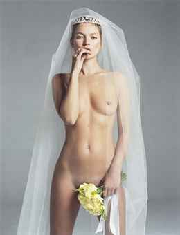 Kate/Bride, for W Magazine, 2003