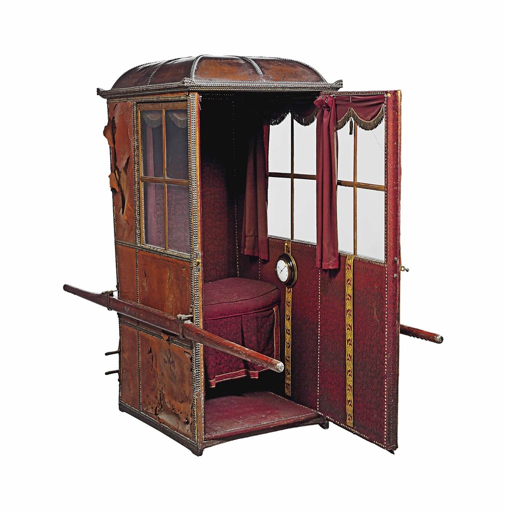 A Westminster Type Leather Sedan Chair Sedan Chair Furniture Amp Lighting Christie S