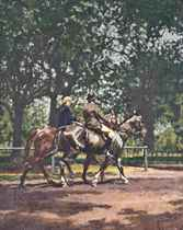 Riding in the Park (Hyde Park)