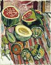 Honydew and Watermelon and Turban and Pear - Gourds