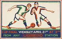 CUP FINAL, WEMBLEY-APRIL 21st