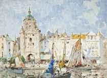 The clock tower, La Rochelle