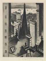 The Temples of New York (Leicester Galleries 44)