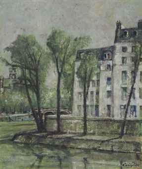 Paysage de Paris, Ile St-Louis