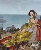 Femme au coquillage