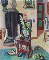 Lupinen und Schafgarbe, 1941