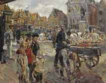 Market in Hoorn