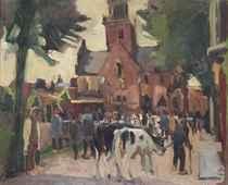 The cattle market, Alkmaar
