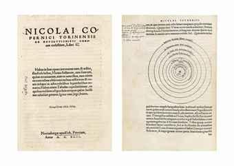 COPERNICUS, Nicolaus (1473-1543). De revolutionibus orbium coelestium, libri VI. Nuremberg: Johann Petreius, 1543.