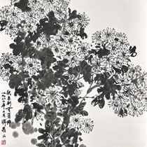 Ink Chrysanthemum