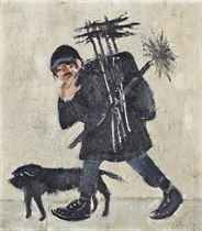 Bill Flood, the chimney sweep