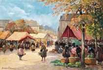 A Breton market