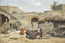 Ottomans at the city wall