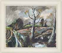 Storm in Suffolk (recto); and Summer in Suffolk (verso)