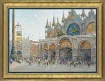 Before the Basilica di San Marco, Venice