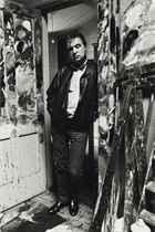 Francis Bacon in the Doorway of his Studio, 1984