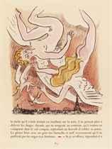 [VAN DONGEN] -- FRANCE, Anatole (1844-1924). La Révolte des anges. Paris: Scripta et Picta, décembre 1951. In-folio (367 x 278 mm). 58 lithographies originales en couleur de Kees Van Dongen dont un frontispice et 57 dans le texte. En feuilles, chemise et étui.