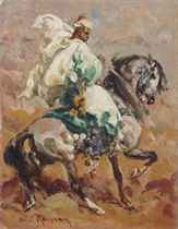 Cavalier du Makhzen