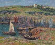 Les sardiniers à Doëlan sur Mer