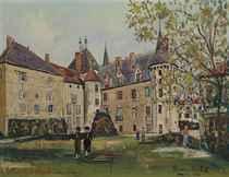 Le château de la Clayette (Saône-et-Loire)