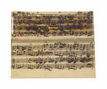 BACH, Johann Sebastian (1685-1750) Autograph music manuscrip