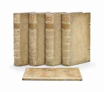 WEINMANN, Johann Wilhelm (1683-1741). Phytanthoza iconographia; sive Conspectus aliquot millium, tam indigenarum quam exoticarum, ex quatuor mundi partibus, longa annorum serie indefessoque studio ... collectarum plantarum, arborum, fruticum, florum fructuum, fungorum. Text by J.G.N. Dietrichs, L.M. Dietrichs, and A.K. Bieler. Regensburg: Hieronymus Lentzen [volume IV: Heinrich Georg Neubauer], 1735-1737-1745.