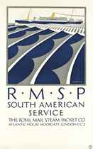 R.M.S.P SOUTH AMERICAN SERVICE