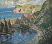 A Berwickshire fishing village