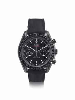 Omega. A Fine Black Ceramic Automatic Chronograph Wristwatch with Date