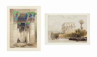 ROBERTS, David. Egypt and Nubia...with historical descriptions by William Brockedon.  London: F. G. Moon, 1846-1849.