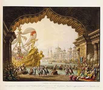 SANQUIRICO, Allessandro (1777-1849). Raccolta di Varie Decorazioni Sceniche inventate ed eseguite per il R. Teatro alla Scala. [Milan, ca 1832].