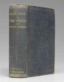 MELVILLE, Herman. Moby-Dick; or, the Whale. New York: Harper & Brothers, 1851.