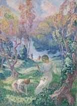 Henri lebasque impressionist modern art christie 39 s for Au jardin welkom