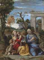 The Madonna and Child with the Infant Saint John the Baptist and Saint Anne