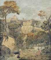 View of Tivoli, Italy