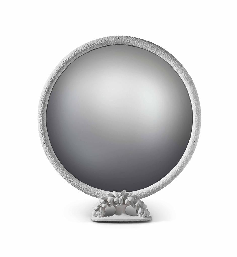 Armand albert rateau 1882 1938 miroir circulaire sur for Miroir circulaire