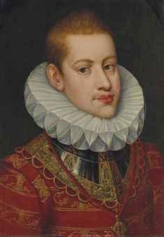 Portrait de l'archiduc Albert, frère de l'Empereur Rodolphe II - attribue_a_alonso_sanchez_coello_portrait_de_larchiduc_albert_frere_de_d5820205h