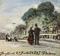 Johan Barthold Jongkind (Lattrop 1819-1891 La Côte-Saint-And