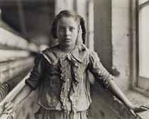 Girl Worker in Carolina Cotton Mill, 1907