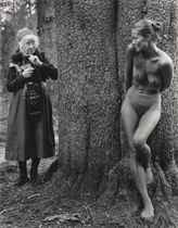 Imogen and Twinka, Yosemite, 1974
