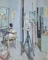 Atelier von Germaine Richier, 1954