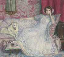 Portrait d'Hélène Keller (La dame en blanc)