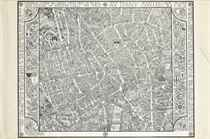 MAP OF CENTRAL LONDON, CLASH OF ARMS